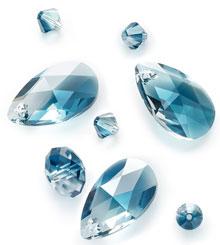 Swarovski Crystal Montana Blend