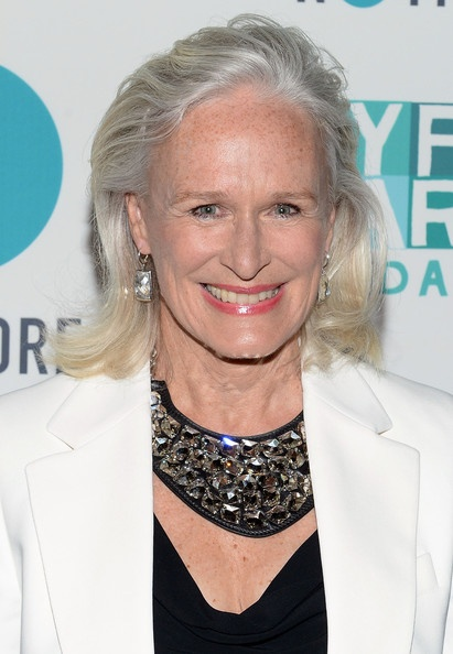 Glenn Close wearing Jewelry made with Swarovski Elements