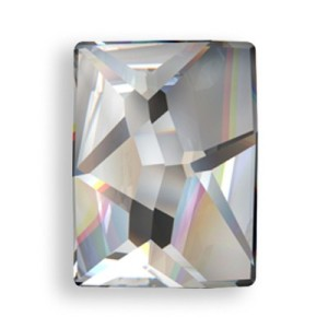 Swarovski 2520 Cosmic Flatback Clear Crystal