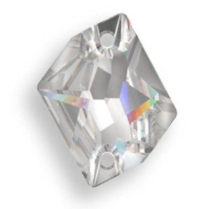 Swarovski 3265 Cosmic Sew on stone Clear Crystal