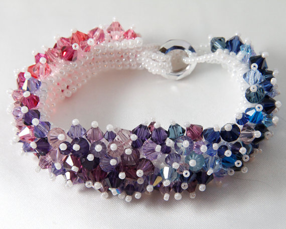 Swarovski Crystal Ombre Bracelet