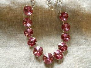 Swarovski Necklace Lois Jewelry from my garden