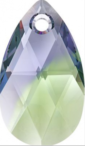 Swarovski_6106_Pearshape_Pendant_Provence_Lavender-Chrysolite_Blend