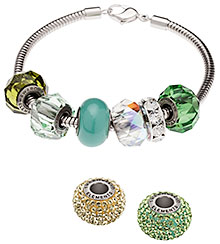 Swarovski BeCharmed Pave Forest Dream Color Inspirations