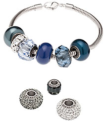 Swarovski BeCharmed Pave Magic and Mystery Color Inspiration