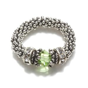 Cindy David Designs Peridot Ring