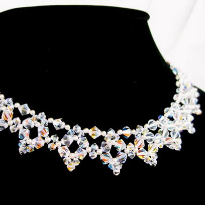 Swarovski Crystal Bridal Necklace from Jewels by Jan