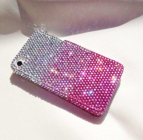 Swarovski Crystal Pink Case