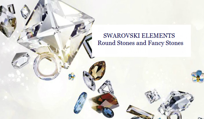Swarovski Crystal Round Stones and Fancy Stones