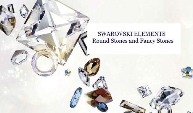Swarovski Crystal Round Stones and Fancy Stones