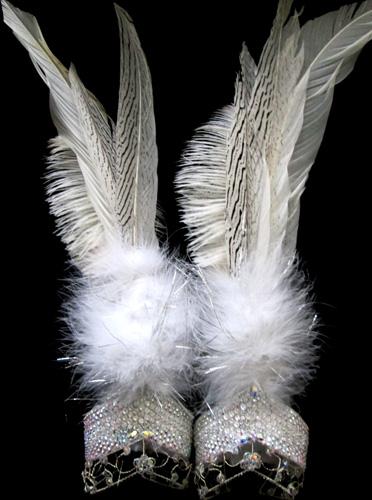 Wendy Szeto Crystal Snow Samba Bikini Boots