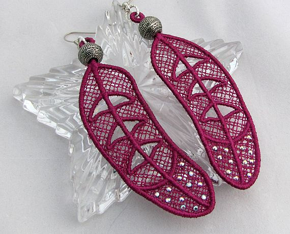 Anita Allbritton Swarovski Crystal Earrings