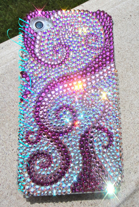 Crystal Fetish Swarovski Crystal I Phone Case bedazzled