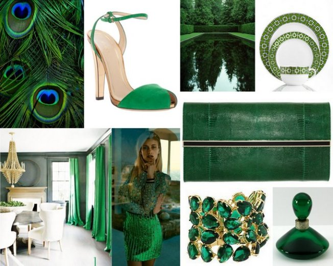 Emerald Color Inspiration