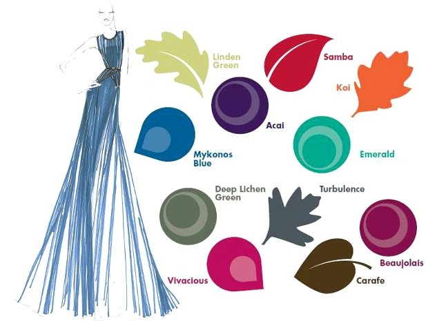 pantone fall 2013 color trends