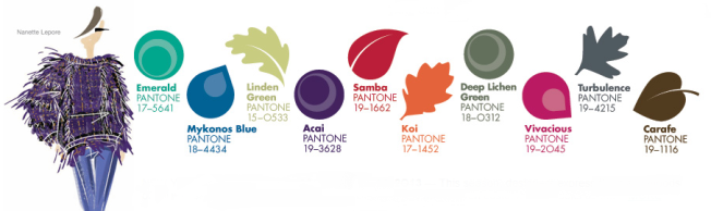 Pantone Fashion Color Report Fall 2013