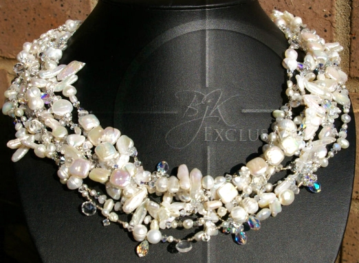Swarovski Crystal Bridal Necklace Jewelry