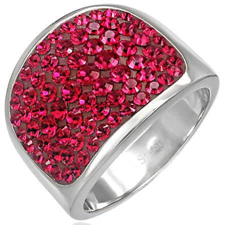Swarovski crystal Light Siam Ring