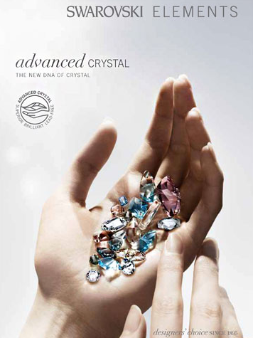 Swarovskis new ADVANCED CRYSTAL