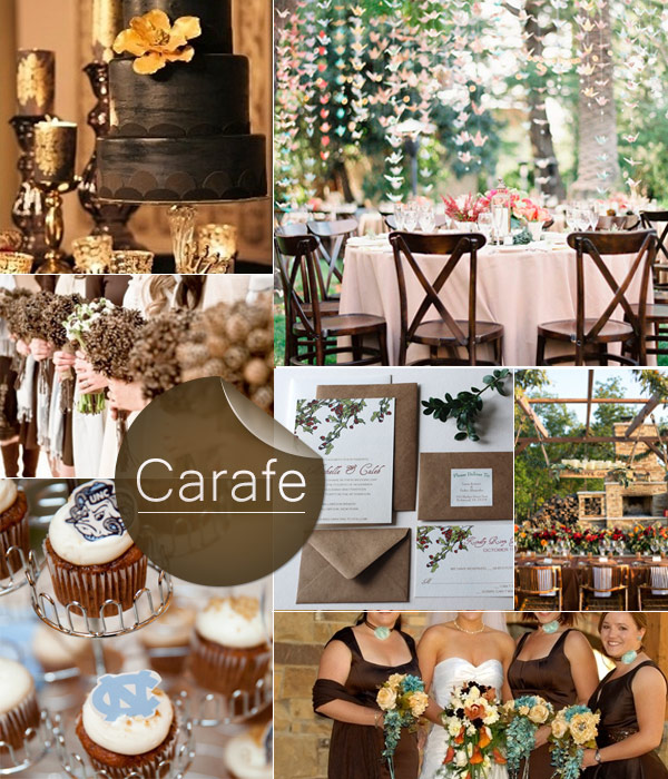 Carafe-Brown-Fall-2013-Wedding-Color-Inspiration