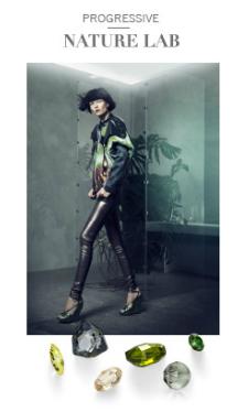 Progressive Nature Lab Swarovski Fashion Trends