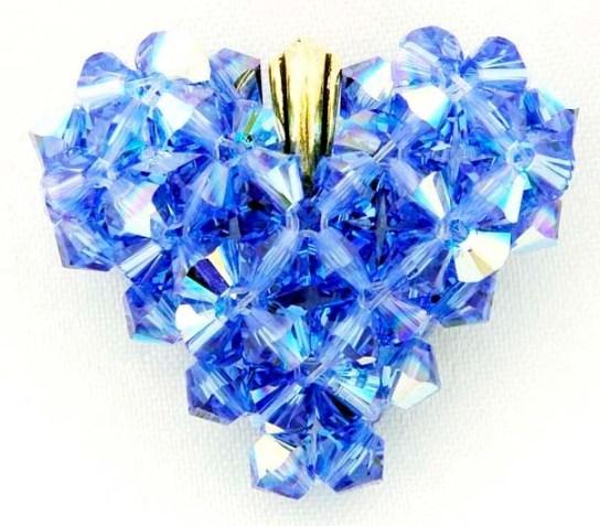 Swarosvki Crystal 5328 Xilion Bicone Beads Sapphire AB