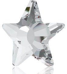 SWAROVSKI ELEMENTS 2817 STAR FLAT BACK HOTFIX NEW ARTICLE