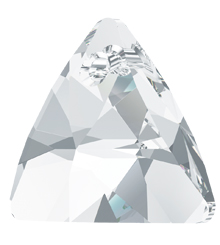 SWAROVSKI ELEMENTS 6628 XILION TRIANGLE PENDANT NEW ARTICLE