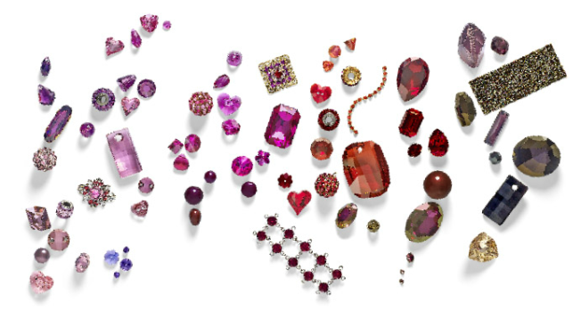 Glamour Color Combination Inspirations Swarovski Elements Fashion and Color Trends
