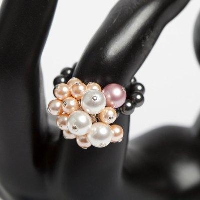 Swarovski Crystal Pearl Ring