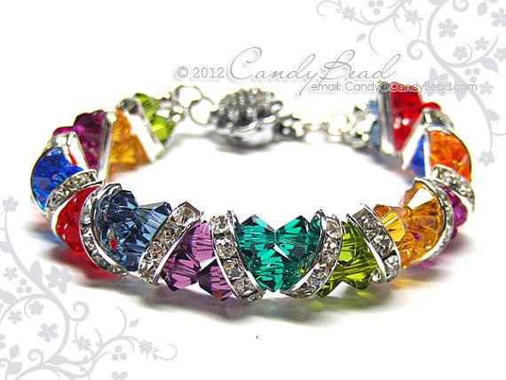 Swarovski Crystal Rhinestone Rondelles