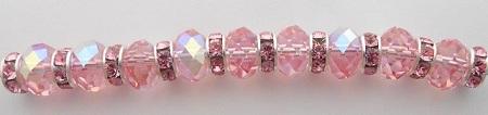 Swarovski Elements Crystal Rhinestone Rondelles