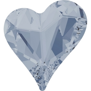 Swarovski Heart 4809 Crystal Blue Shade