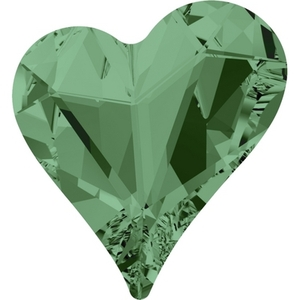Swarovski Heart Fancy Stone Erinite