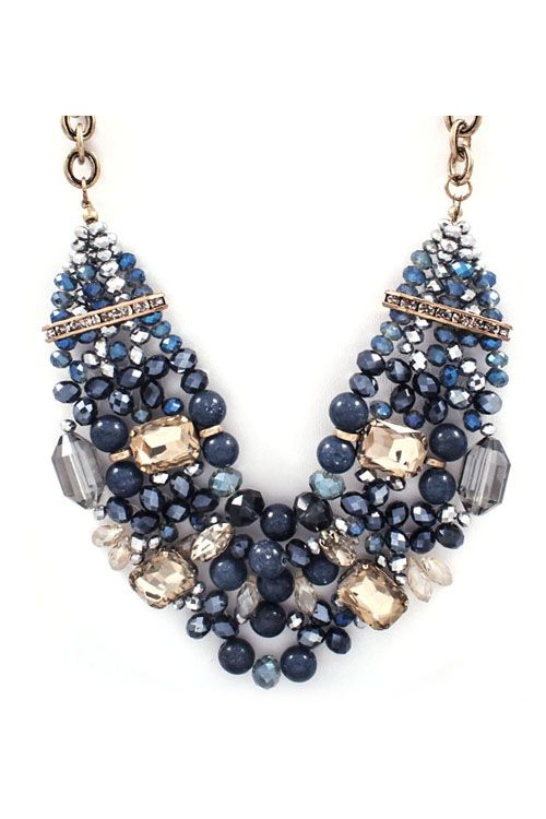 Swarovski Necklace Design Inspiration Blue