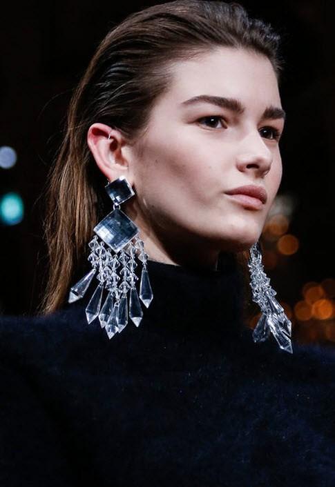 Swarovski Chandilier Earrings Jewelry Fashion Trends