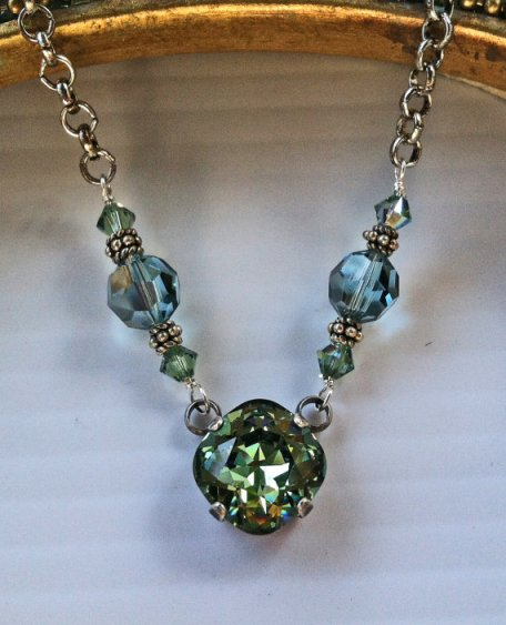 Swarovski Crystal Necklace Erinite