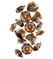 Swarovski Topaz Blend Beads