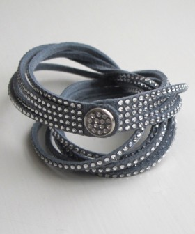 Swarovski Crystal Bracelet Rock Glam
