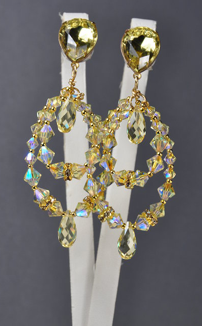 Swarovski_Crystal_Hoop_Earrings_with_Bicone_Beads