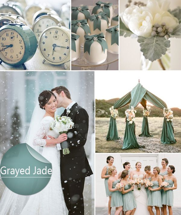 Grey Jade top 10 Wedding color for Spring 2014