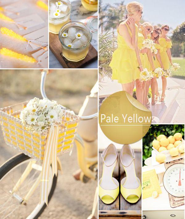 Summer Wedding Colors 2014
