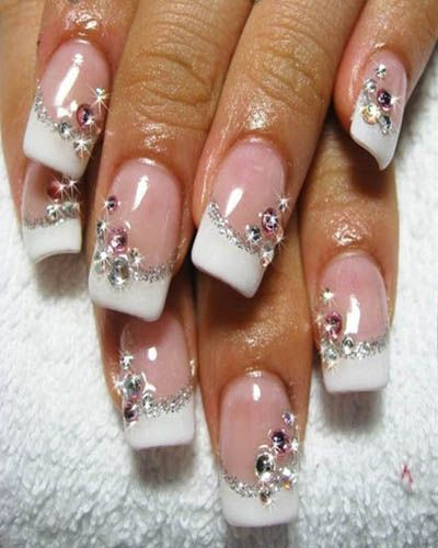 We All Heart Nail Art! Tips For Accessorizing Nails with Swarovski ...