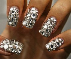 d2a8b253af50 We All Heart Nail Art! Tips For Accessorizing Nails with Swarovski ...