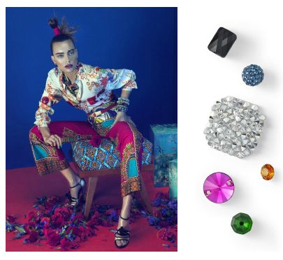 Bright Cobalt and Royal Blue Color Trends 2014 Fall Winter