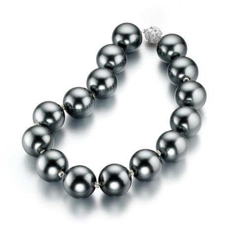 Hot Girls Pearls Swarovski Pearl Necklace