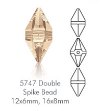 Swarovski_Double_Spike_Bead