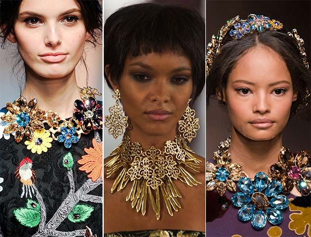 Chic Floral necklaces trend
