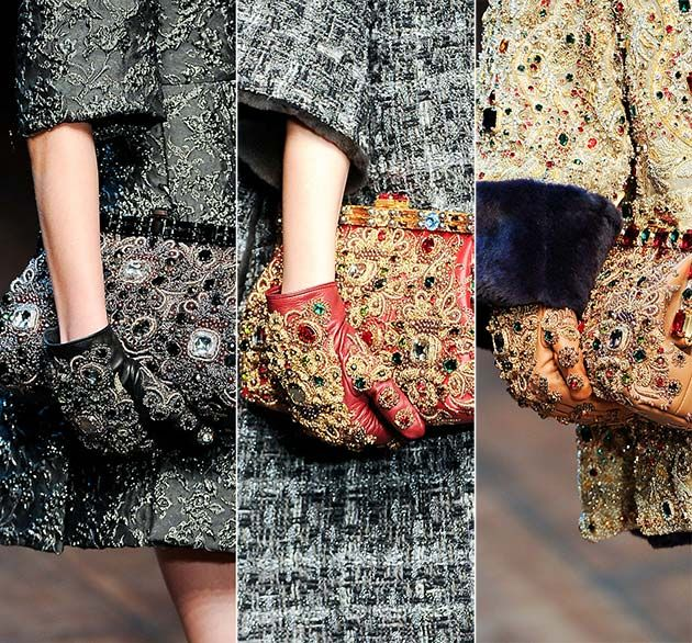 Embellished Gloves Fall and Winter Trend