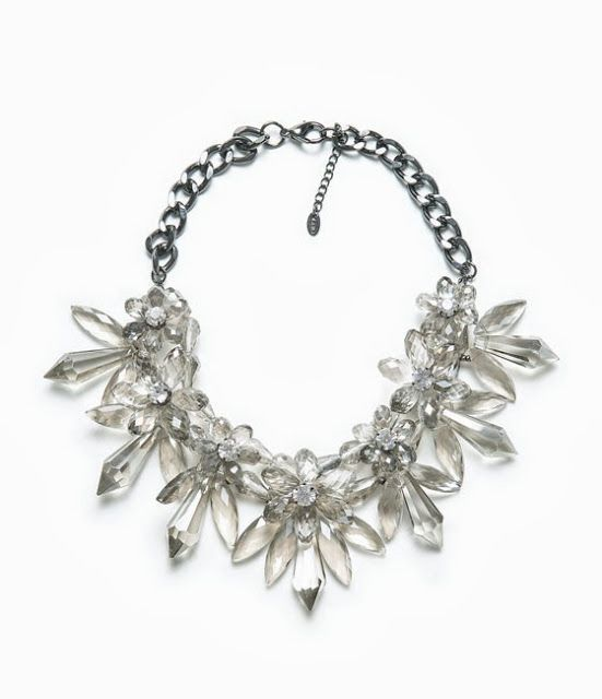 Swarovski Crystal Statement Necklace